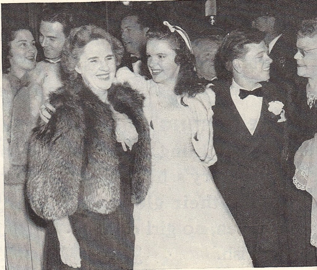 with Judy Garland and their mothers