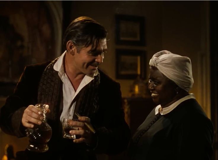 clark gable hattie mcdaniel gone with the wind