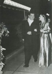 clark gable carole lombard gone with the wind