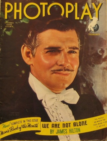 clark gable photoplay gone with the wind