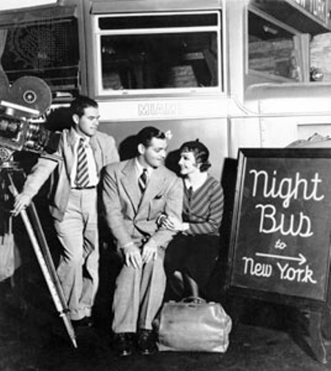 clark gable claudette colbert frank capra it happened one night
