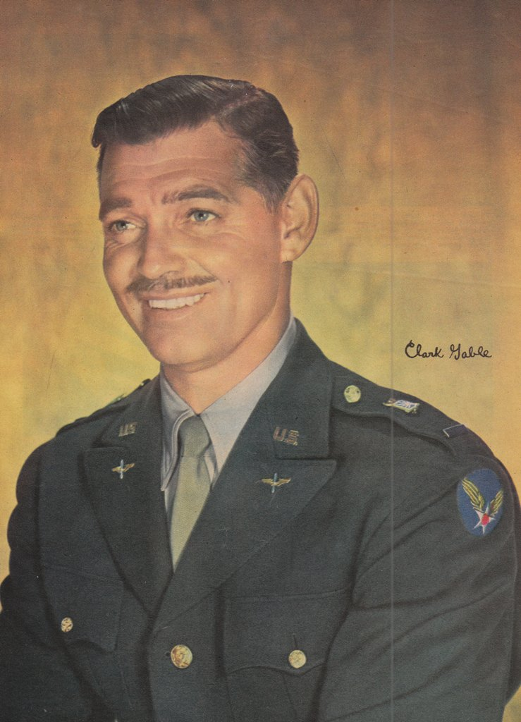 clark gable army