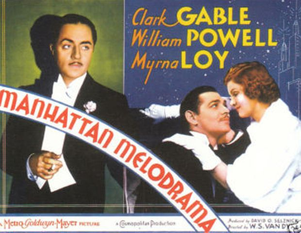clark gable william powell myrna loy manhattan melodrama
