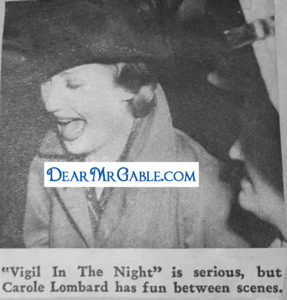 carole lombard vigil in the night