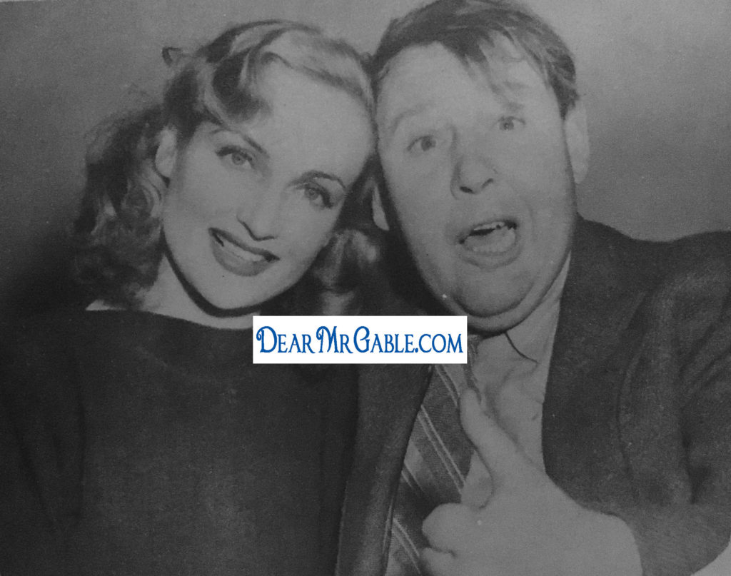 carole lombard charles laughton