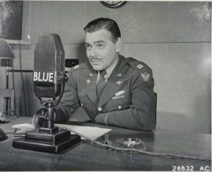 clark gable army press conference