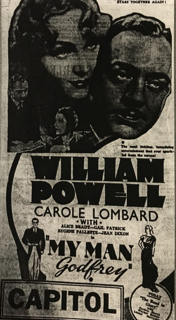carole lombard william powell my man godfrey