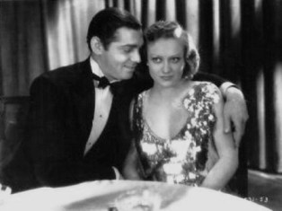 Clark Gable and Joan Crawford in Dance Fools Dance