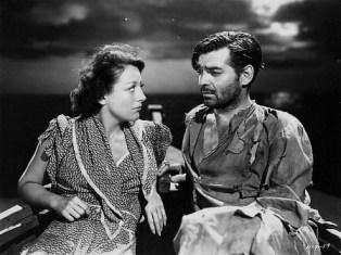 Clark Gable and Joan Crawford in Strange Cargo