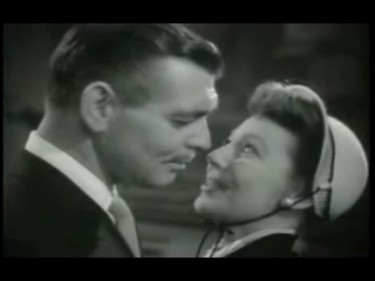 Clark Gable and Loretta Young in Key to the City